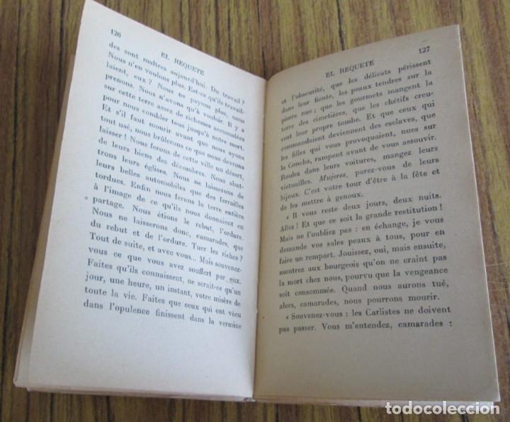 Libros de segunda mano: EL REQUETE (guerra civil Española) -- Por Lucien Maulvault -- París 1937 - Foto 5 - 122929099