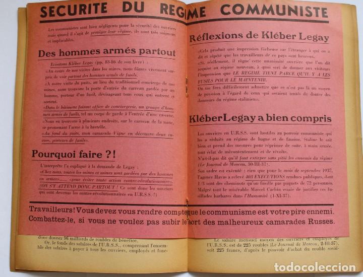Libros de segunda mano: CILACC DOCUMENTATION ANTI - COMMUNISTE -LE XX ANNIVERSAIRE DE LU.R.S.S.- JANVIER 1938 - Foto 3 - 124431843