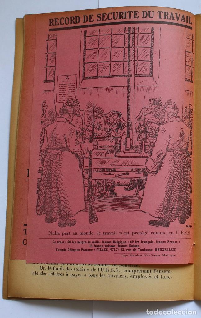 Libros de segunda mano: CILACC DOCUMENTATION ANTI - COMMUNISTE -LE XX ANNIVERSAIRE DE LU.R.S.S.- JANVIER 1938 - Foto 4 - 124431843