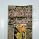Libros de segunda mano: LOS ANARQUISTAS EN EL GOBIERNO 1936-1939. J. GÓMEZ CASAS. BRUGUERA. TDKLT. Lote 127837659