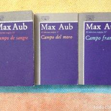 Libros de segunda mano: LOTE MAX AUB DEL LABERINTO MAGICO TOMOS III, IV Y V EDICIONES ALFAGUARA 1978-79 BUEN ESTADO. Lote 128262663