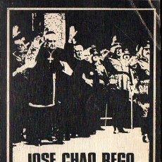 Libros de segunda mano: JOSÉ CHAO REGO : LA IGLESIA EN EL FRANQUISMO (FELMAR, 1976). Lote 128472055