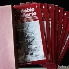 Libros de segunda mano: ABC. DOBLE DIARIO DE LA GUERRA CIVIL. Nº 1 AL 9. CON CAJETÍN. Lote 129256727
