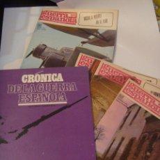 Libros de segunda mano: CRONICA DE LA GUERRA CIVIL ESPAÑOLA , DE CODEX, 1966. TOMO 3º ( TAPAS Y 20 FASCICULOS ). Lote 130042011