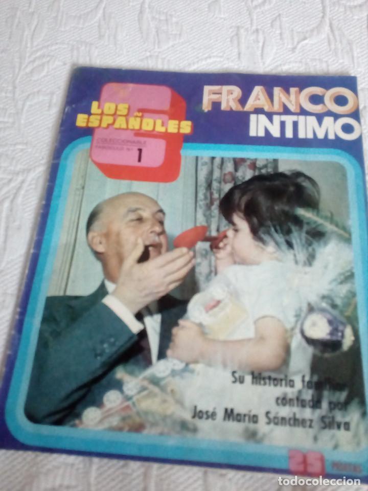 Libros de segunda mano: LOTE DE UN LIBRO Y DOS REVISTAS,SOBRE FRANCISCO FRANCO.ESPAÑOLES. - Foto 6 - 130223585