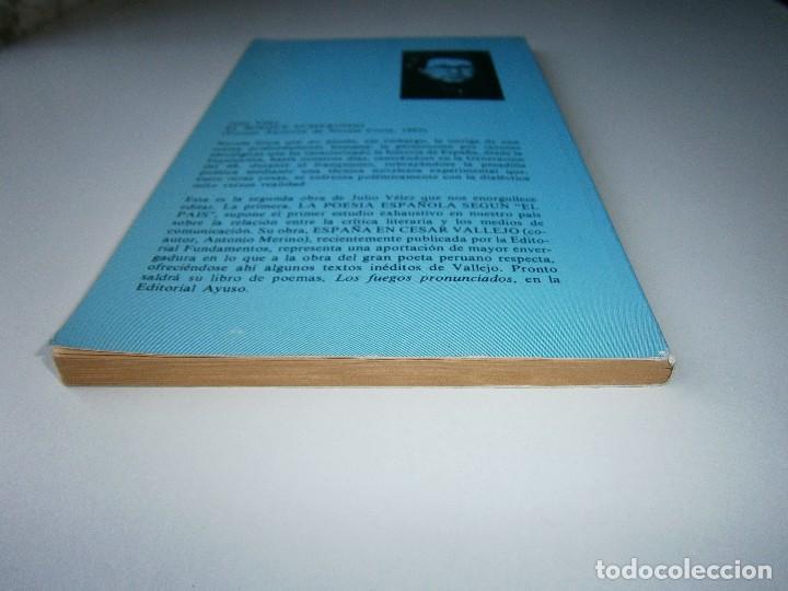 Libros de segunda mano: EL BOSQUE SUMERGIDO JULIO VELEZ Origenes 1985 - Foto 6 - 130742104