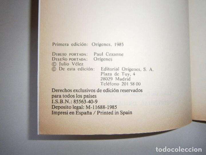 Libros de segunda mano: EL BOSQUE SUMERGIDO JULIO VELEZ Origenes 1985 - Foto 9 - 130742104
