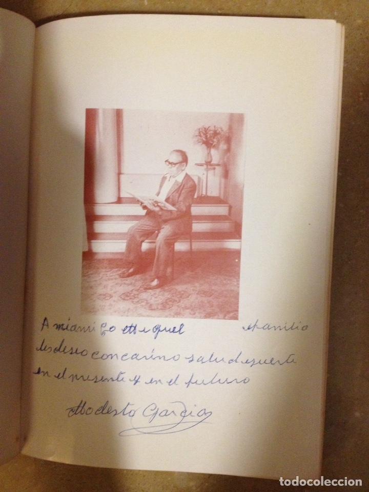 Libros de segunda mano: Venganza contra la vida (Modesto García) Ejemplar dedicado y firmado por el autor - Foto 3 - 131131661