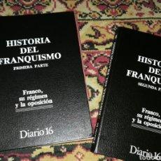 Libros de segunda mano: HISTORIA DEL FRANQUISMO. Lote 132412895