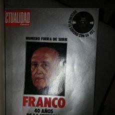 Libros de segunda mano: FRANCO, 40 AÑOS DE HISTORIA DE ESPAÑA. Lote 132622130