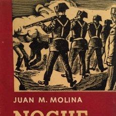 Libros de segunda mano: NOCHE SOBRE ESPAÑA. SIETE AÑOS EN LAS PRISIONES DE FRANCO. - MOLINA, JUAN M. - MÉXICO, 1958.. Lote 123219776