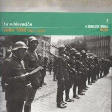 Livros em segunda mão: LA SUBLEVACION. JULIO 1936 (DEL 1 AL 20). TOMO 2.- A-GCV-2056. Lote 134794326