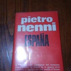 Libros de segunda mano: ESPAÑA.PIETRO NENNI.. Lote 134893702