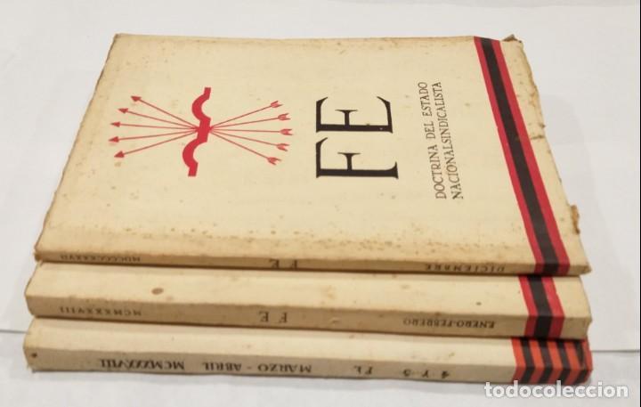 Libros de segunda mano: FE DOCTRINA DEL DEL ESTADO NACIONALSINDICALISTA. AÑO 1937. 3 LIBROS- DICIEMBRE-ENERO, FEBRERO-MARZO - Foto 2 - 135352890