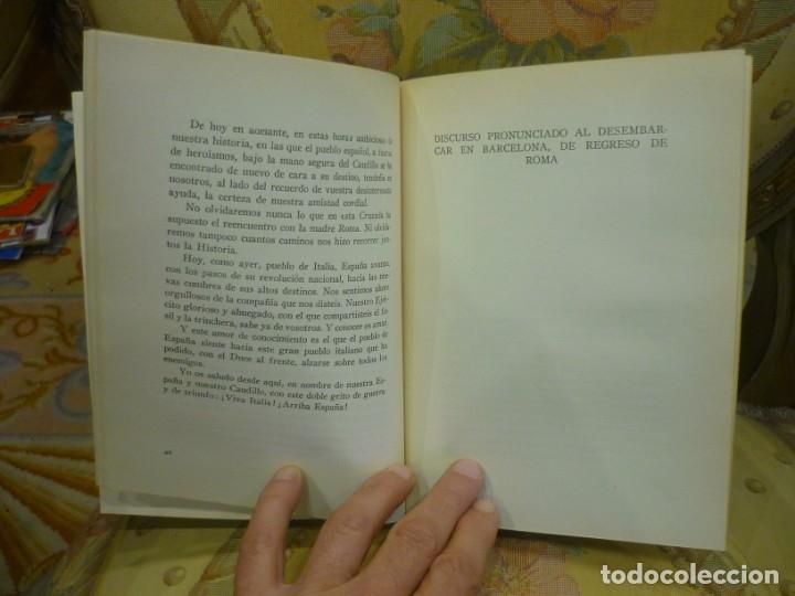 Libros de segunda mano: DE LA VICTORIA Y LA POSTGUERRA (DISCURSOS), DE RAMÓN SERRANO SUÑER. EDICIONES FE, 2ª EDICIÓN 1.941. - Foto 5 - 135484198