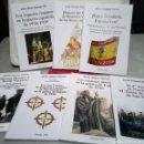Libros de segunda mano: TERCIOS REQUETES EN LA GUERRA CIVIL ESPAÑOLA HISTORIA. LOTE DE 7 LIBROS.. Lote 160643289