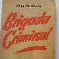 Libros de segunda mano: BRIGADA CRIMINAL. Lote 139044386