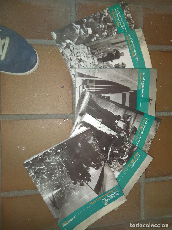 6 TOMOS LA GUERRA CIVIL ESPAÑOLA (EL MUNDO) (Libros de Segunda Mano - Historia - Guerra Civil Española)