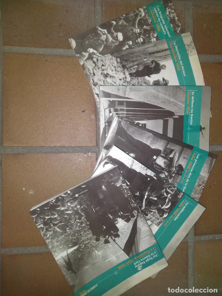 Libros de segunda mano: 6 Tomos La Guerra Civil Española (El Mundo) - Foto 2 - 139590502