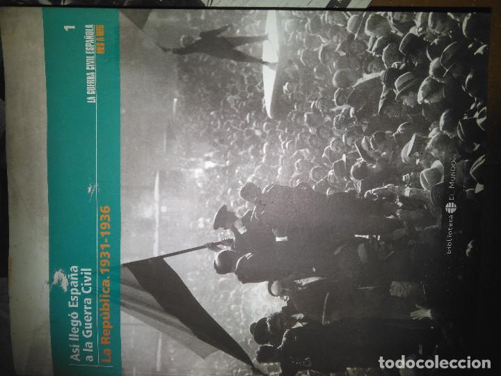 Libros de segunda mano: 6 Tomos La Guerra Civil Española (El Mundo) - Foto 3 - 139590502