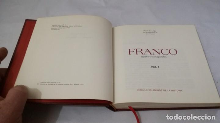 Libros de segunda mano: FRANCO ESPAÑA Y LOS ESPAÑOLES-ALAIN LAUNAY-VOLUMEN 1 - Foto 5 - 139876970