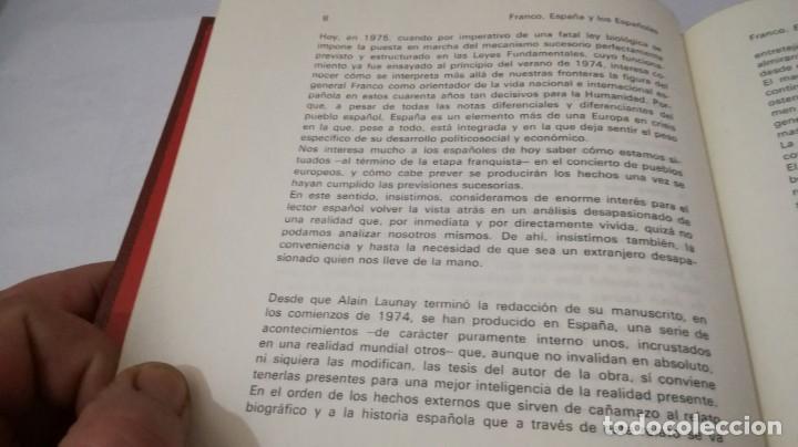 Libros de segunda mano: FRANCO ESPAÑA Y LOS ESPAÑOLES-ALAIN LAUNAY-VOLUMEN 1 - Foto 9 - 139876970