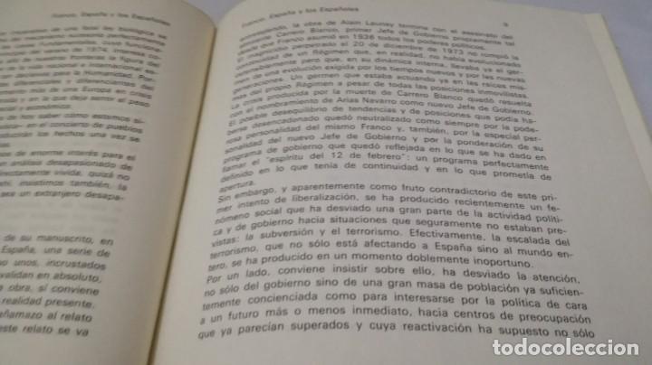 Libros de segunda mano: FRANCO ESPAÑA Y LOS ESPAÑOLES-ALAIN LAUNAY-VOLUMEN 1 - Foto 10 - 139876970