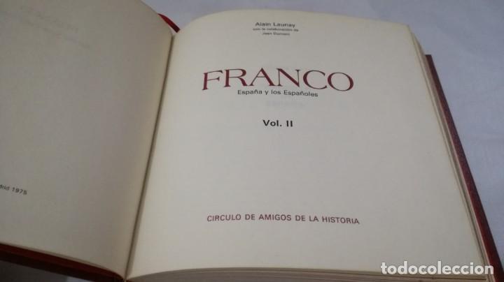 Libros de segunda mano: FRANCO ESPAÑA Y LOS ESPAÑOLES-ALAIN LAUNAY-VOLUMEN 2 - Foto 4 - 139877046