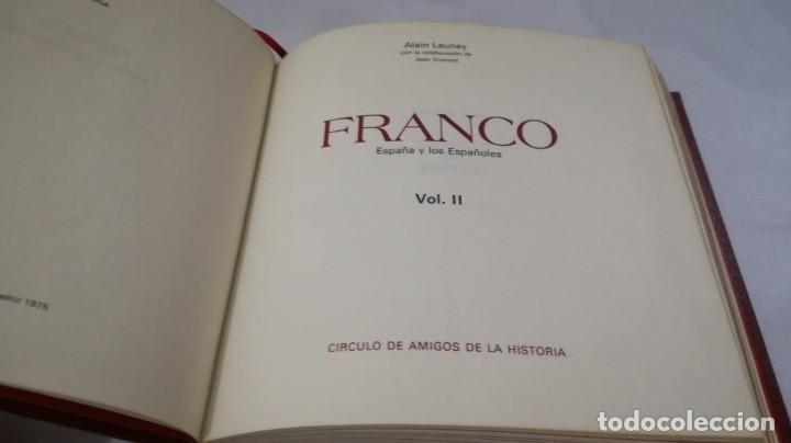 Libros de segunda mano: FRANCO ESPAÑA Y LOS ESPAÑOLES-ALAIN LAUNAY-VOLUMEN 2 - Foto 5 - 139877046