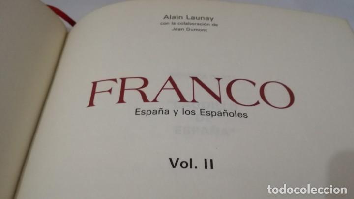 Libros de segunda mano: FRANCO ESPAÑA Y LOS ESPAÑOLES-ALAIN LAUNAY-VOLUMEN 2 - Foto 6 - 139877046
