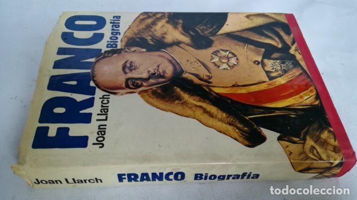 FRANCO, BIOGRAFÍA, JOAN LLARCH-EDITORIAL ATE (Libros de Segunda Mano - Historia - Guerra Civil Española)