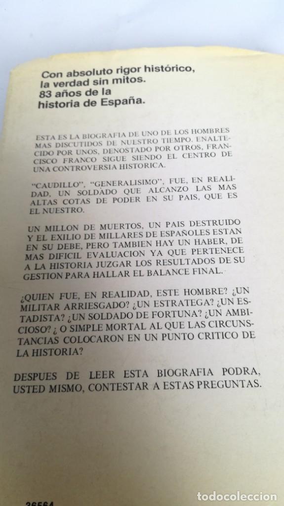 Libros de segunda mano: Franco, biografía, Joan Llarch-EDITORIAL ATE - Foto 3 - 139884810