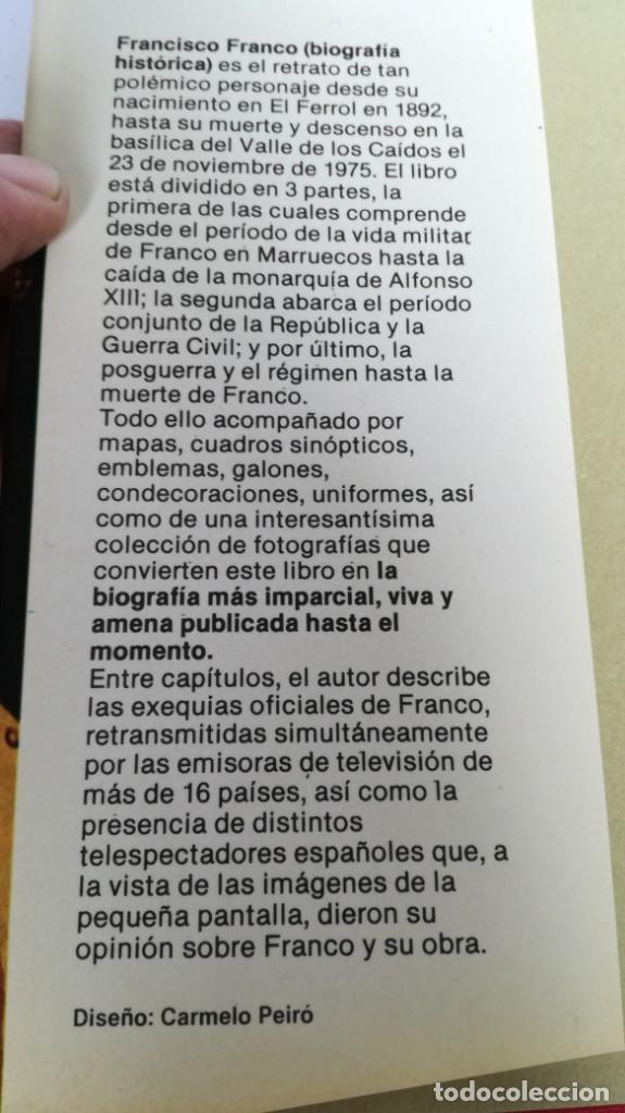 Libros de segunda mano: Franco, biografía, Joan Llarch-EDITORIAL ATE - Foto 4 - 139884810