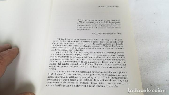 Libros de segunda mano: Franco, biografía, Joan Llarch-EDITORIAL ATE - Foto 9 - 139884810