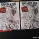 Libros de segunda mano: NAVARRA 1936 DE LA ESPERANZA AL TERROR, RUIZ VILAS, MARI JOSE Y OTROS. Lote 157700449