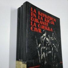 Libros de segunda mano: LA REPRESION EN LA RIOJA DURANTE LA GUERRA CIVIL (3 TOMOS). - HERNANDEZ GARCIA, ANTONIO. TDKLT. Lote 140256398