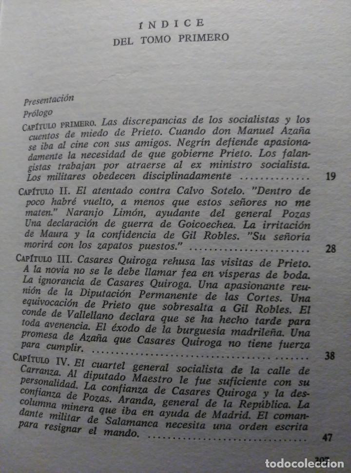Libros de segunda mano: Guerra y vicisitudes de los Españoles, Zugazagoitia, 1968 - Foto 3 - 140450434