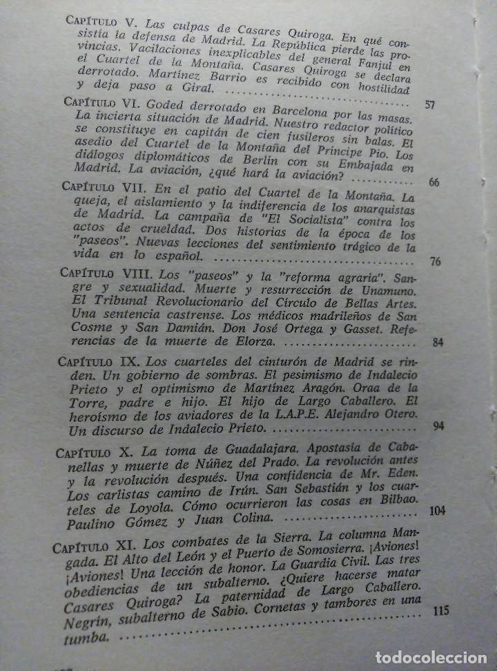 Libros de segunda mano: Guerra y vicisitudes de los Españoles, Zugazagoitia, 1968 - Foto 4 - 140450434