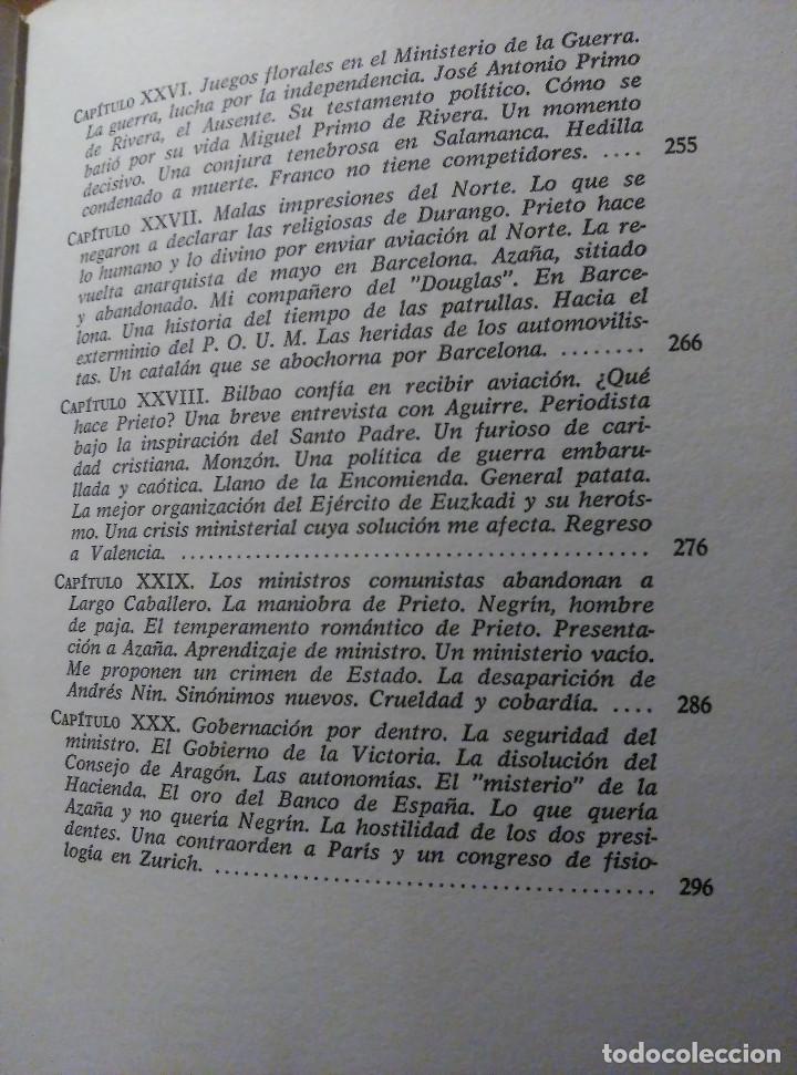 Libros de segunda mano: Guerra y vicisitudes de los Españoles, Zugazagoitia, 1968 - Foto 7 - 140450434