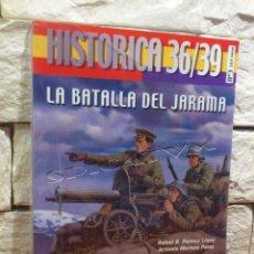 Libros de segunda mano: LA BATALLA DEL JARAMA - HISTORICA 36/39 - Nº 3 - SPANISH/ENGLISH - GUERRA CIVIL - NUEVO - PRECINTADO. Lote 140496830