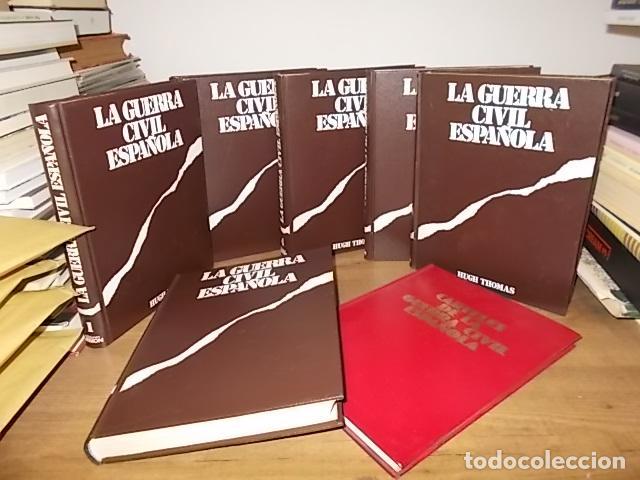 LA GUERRA CIVIL ESPAÑOLA. 6 TOMOS + CARTELES DE LA GUERRA (COL. COMPLETA). HUGH THOMAS. URBION .1979 (Libros de Segunda Mano - Historia - Guerra Civil Española)