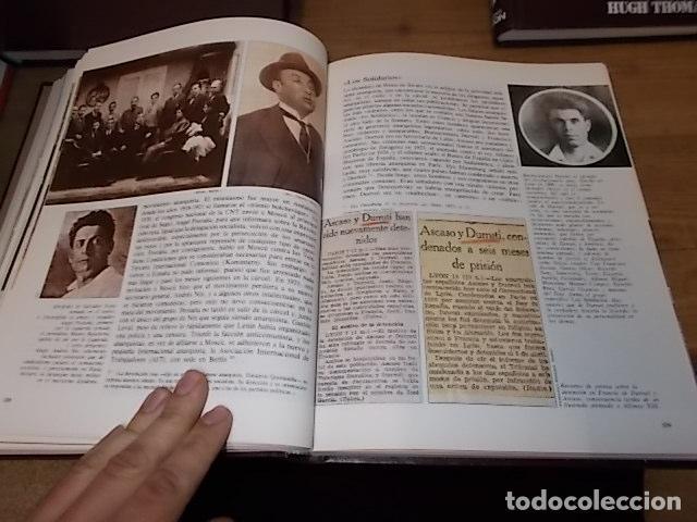 Libros de segunda mano: LA GUERRA CIVIL ESPAÑOLA. 6 TOMOS + CARTELES DE LA GUERRA (COL. COMPLETA). HUGH THOMAS. URBION .1979 - Foto 28 - 244620180