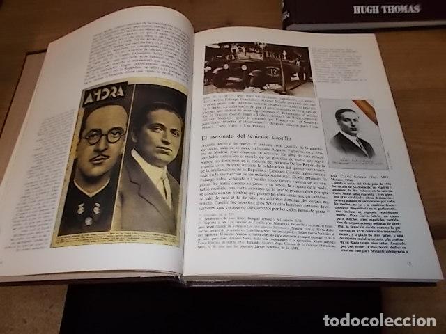 Libros de segunda mano: LA GUERRA CIVIL ESPAÑOLA. 6 TOMOS + CARTELES DE LA GUERRA (COL. COMPLETA). HUGH THOMAS. URBION .1979 - Foto 31 - 244620180