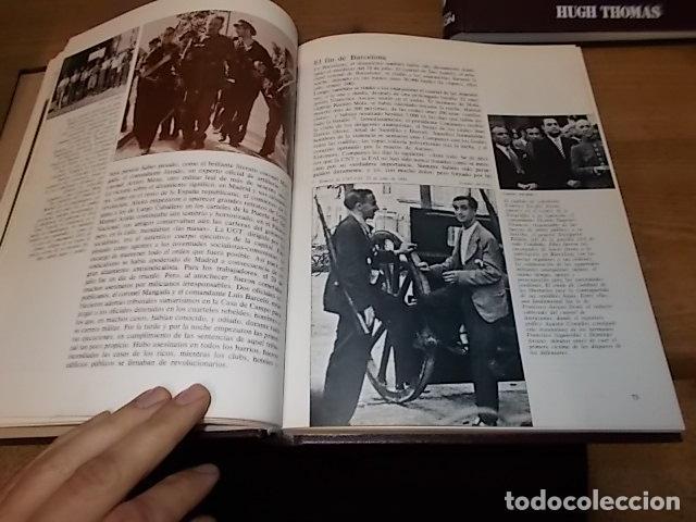 Libros de segunda mano: LA GUERRA CIVIL ESPAÑOLA. 6 TOMOS + CARTELES DE LA GUERRA (COL. COMPLETA). HUGH THOMAS. URBION .1979 - Foto 45 - 244620180