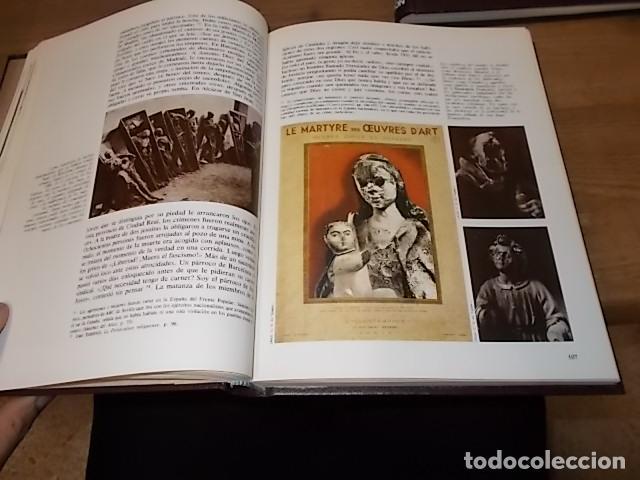 Libros de segunda mano: LA GUERRA CIVIL ESPAÑOLA. 6 TOMOS + CARTELES DE LA GUERRA (COL. COMPLETA). HUGH THOMAS. URBION .1979 - Foto 47 - 244620180