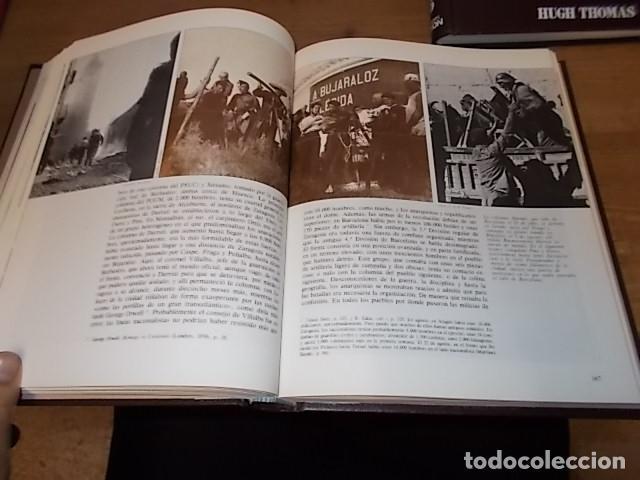 Libros de segunda mano: LA GUERRA CIVIL ESPAÑOLA. 6 TOMOS + CARTELES DE LA GUERRA (COL. COMPLETA). HUGH THOMAS. URBION .1979 - Foto 49 - 244620180