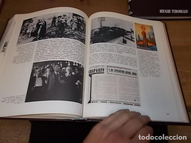 Libros de segunda mano: LA GUERRA CIVIL ESPAÑOLA. 6 TOMOS + CARTELES DE LA GUERRA (COL. COMPLETA). HUGH THOMAS. URBION .1979 - Foto 54 - 244620180