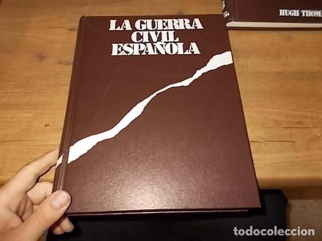 Libros de segunda mano: LA GUERRA CIVIL ESPAÑOLA. 6 TOMOS + CARTELES DE LA GUERRA (COL. COMPLETA). HUGH THOMAS. URBION .1979 - Foto 58 - 244620180