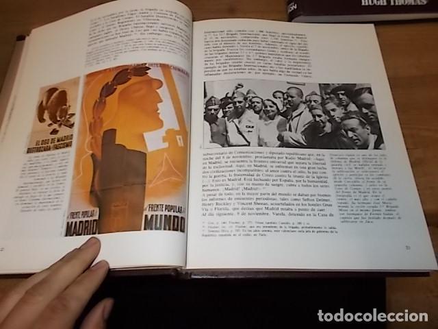 Libros de segunda mano: LA GUERRA CIVIL ESPAÑOLA. 6 TOMOS + CARTELES DE LA GUERRA (COL. COMPLETA). HUGH THOMAS. URBION .1979 - Foto 61 - 244620180