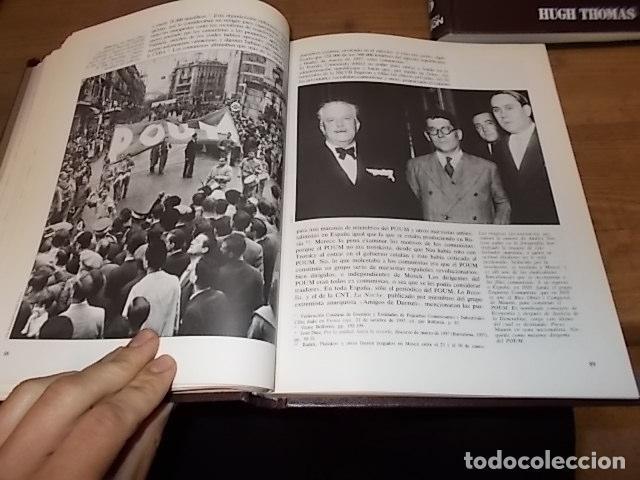 Libros de segunda mano: LA GUERRA CIVIL ESPAÑOLA. 6 TOMOS + CARTELES DE LA GUERRA (COL. COMPLETA). HUGH THOMAS. URBION .1979 - Foto 64 - 244620180